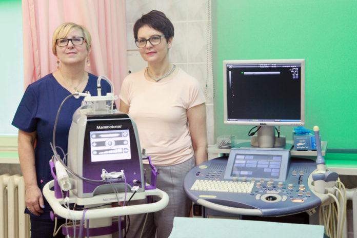 doktor-Elżbieta-Łuczyńska-kierownik-zakładu-radiologii-z-Centrum-Onkologii-w-Krakowie-mammotom-sp-zoz-kędzierzyn-koźle-Mariola-Adamska-Cholaś-2-696x464.jpeg