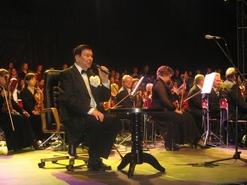 Bogusław Kaczyński prowadził niezapomniany Koncert Trzech Tenorów - finał projektu realizowanego z partnerskim Miastem Krnov z Republiki Czeskiej