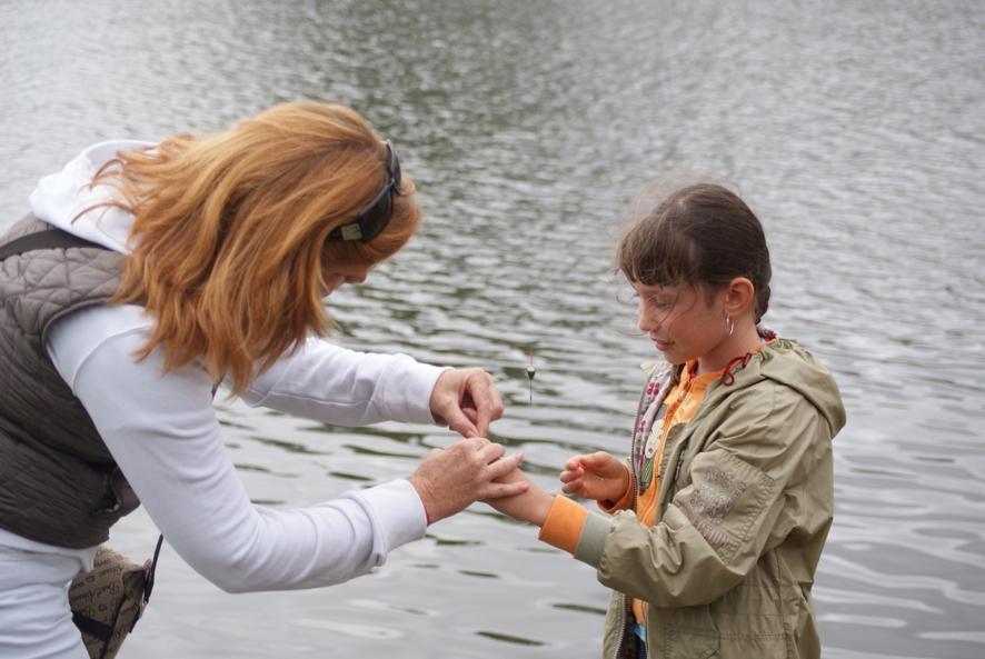 Dzieci i młodzież lubi wędkować z gwiazdą