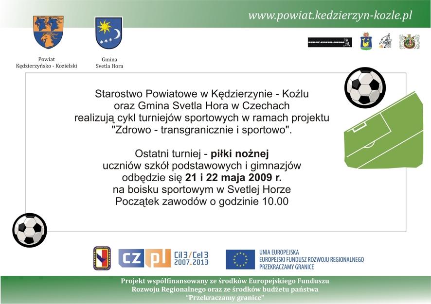 Zapraszamy wszystkich kibiców młodzieżowego sportu do Svetlej Hory. Warto czasami odwiedzić naszych południowych sąsiadów.
