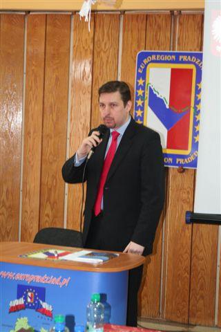 Przedstawiciel Ambasady RP w Pradze