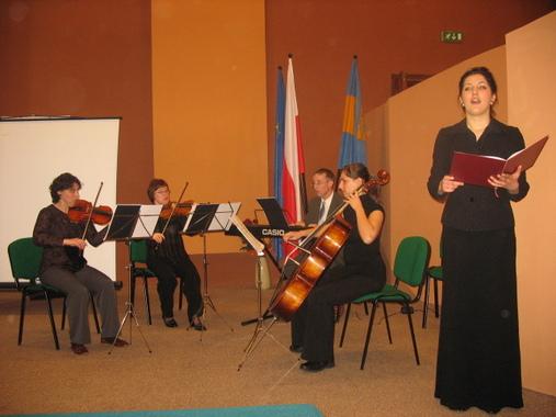 Występ muzyków z Państwowej Szkoły Muzycznej uświetnił uroczystość