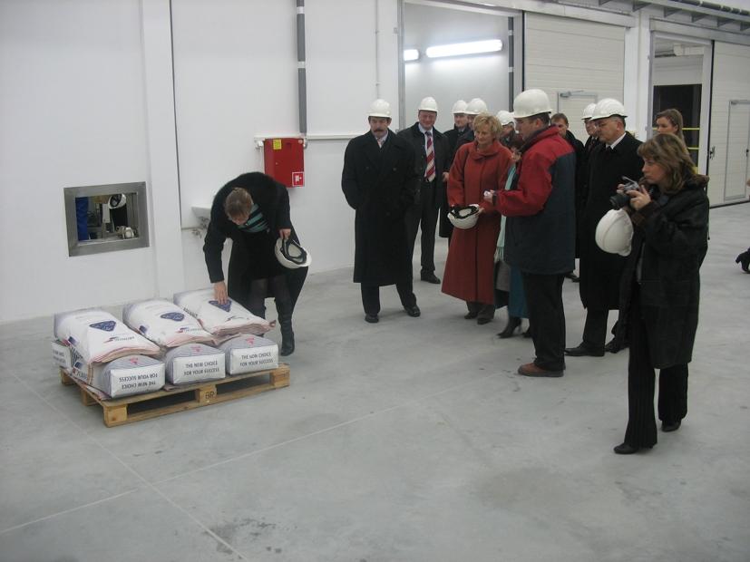 Otwarcie nowej instalacji firmy Brenntag
