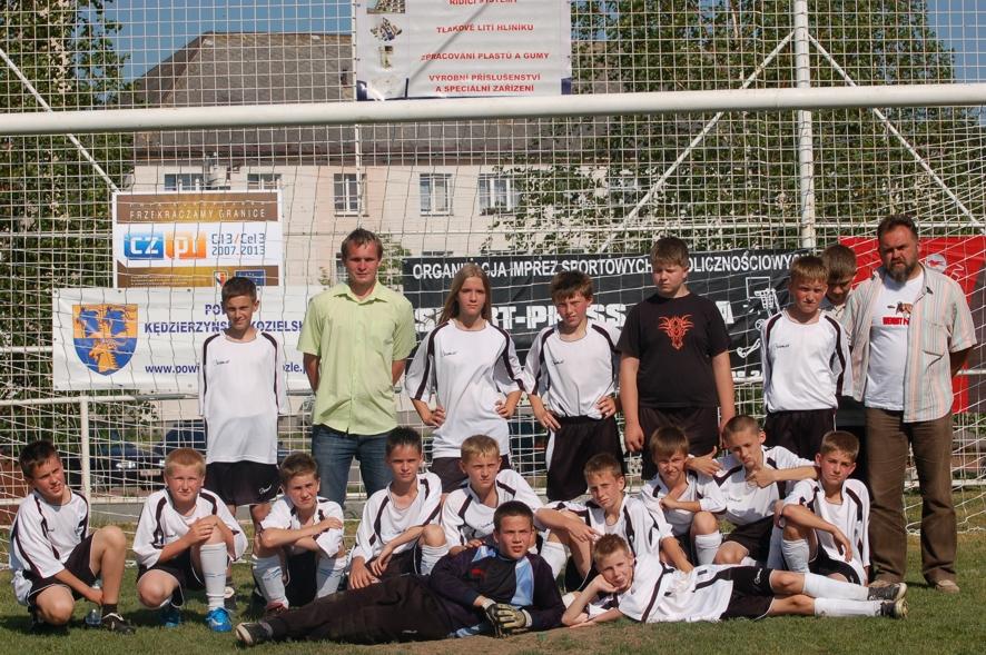 Drugą ekipą wśród podstawówek byli przedstawiciele PSP Nr 18 z Kędzierzyna-Koźla - Cisowa