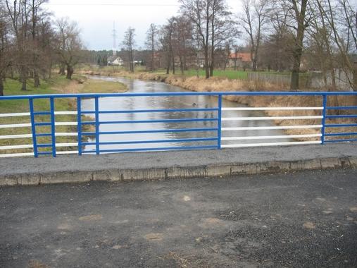 Most na rzece Kłodnicy w ciągu ulicy Nałkowskiej po remoncie