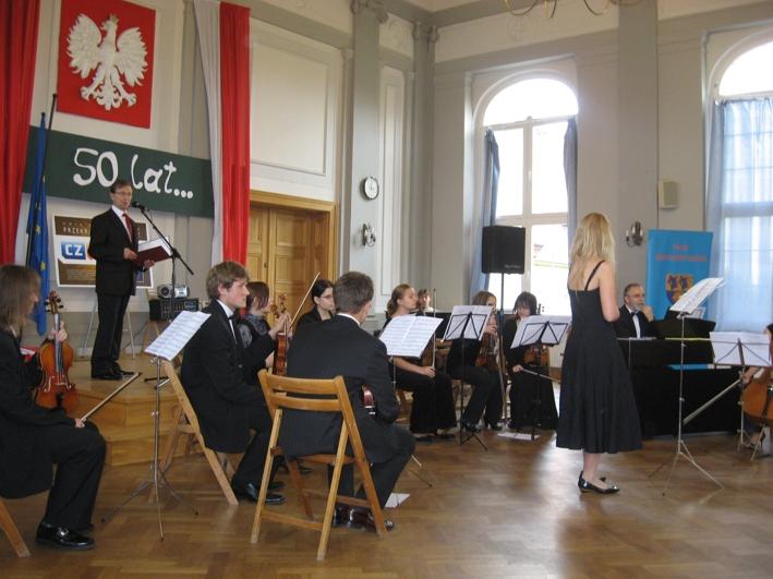 Występ orkiestry z Opola