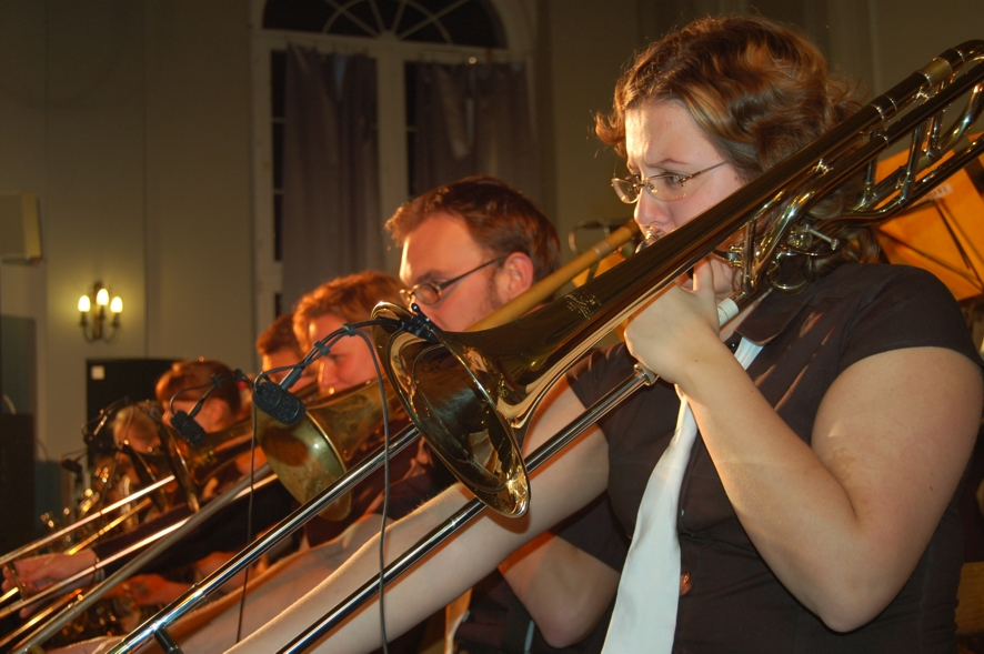 Big Band z Krnova podczas koncertu na zakończenie festiwalu