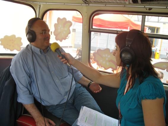 Wywiadu udziela starosta Józef Gisman