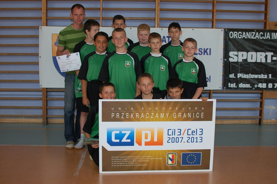 Uczestnicy turnieju: zespół Publicznej Szkoły Podstawowej nr 1 w Kędzierzynie