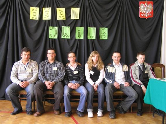 Na zdjęciu od lewej: Damian Stania, Daniel Kubina, Robert Gaszczyk, Natalia Nieckarz, Krzysztof Richter, Mateusz Jaskółka