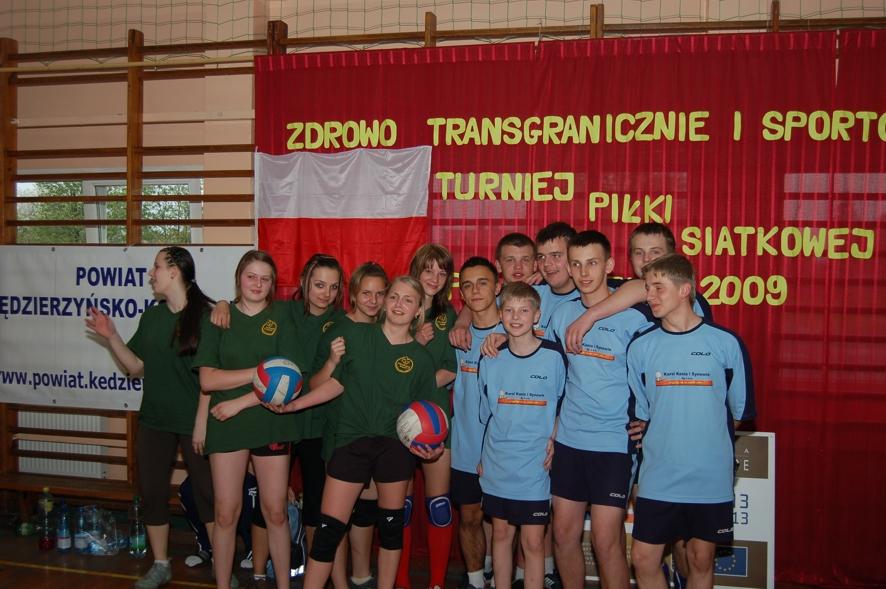 Nawiązała się sympatia pomiędzy chłopcami z Pawłowiczek i dziewczynami z Czech