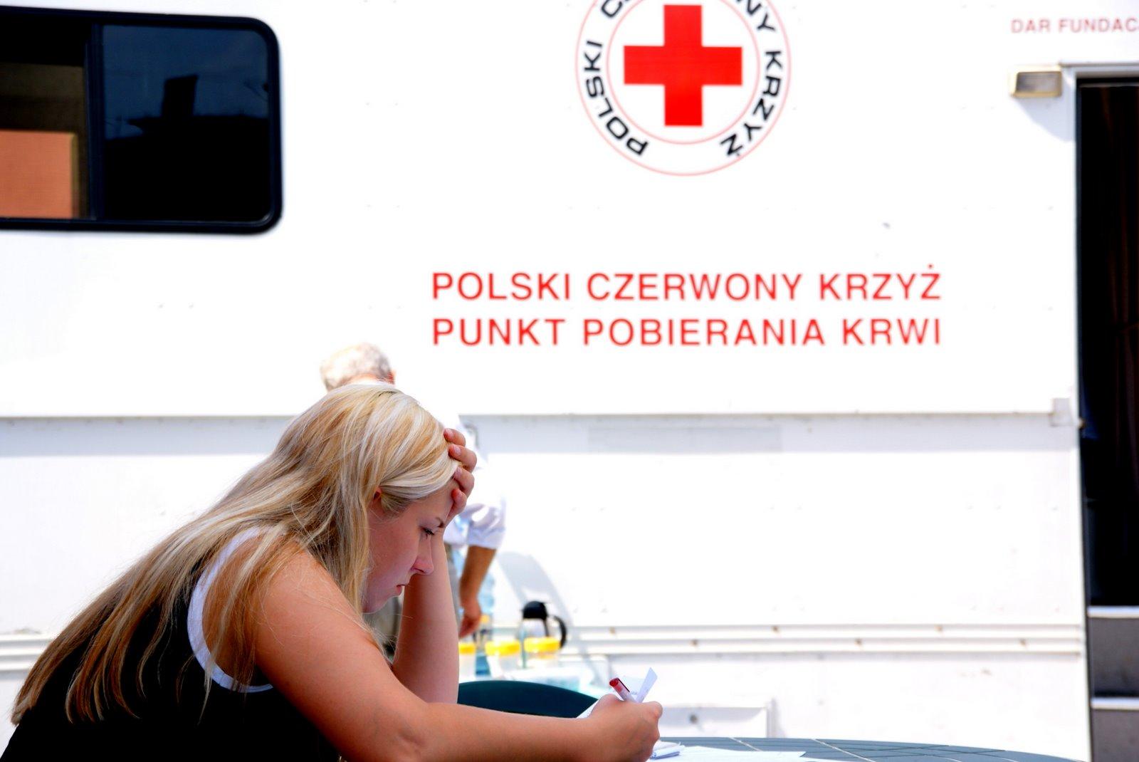 Akcja poboru krwi - zapraszamy