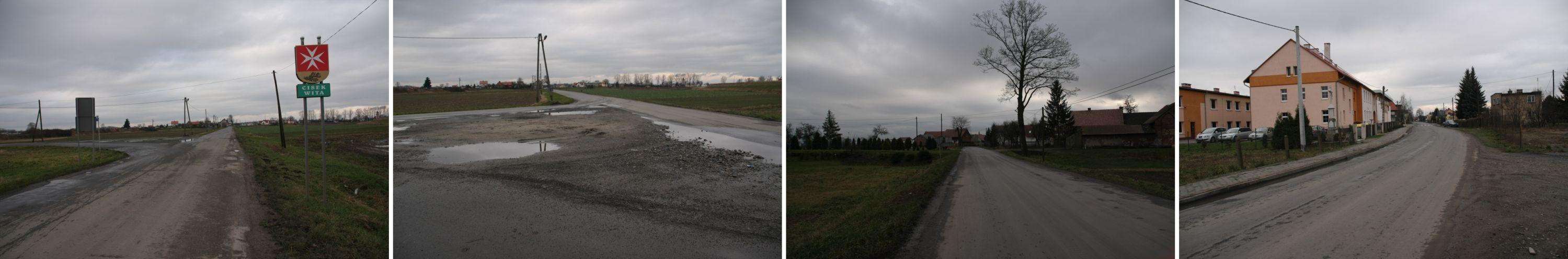 Droga Roszowice-Biadaczów dziś