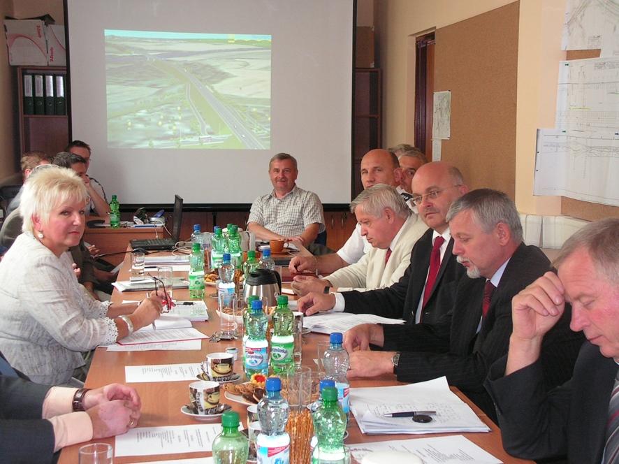 Podczas spotkania Rady Budowy obwodnicy