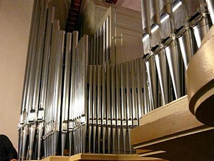 Organy w kozielskim Kościele parafialnym