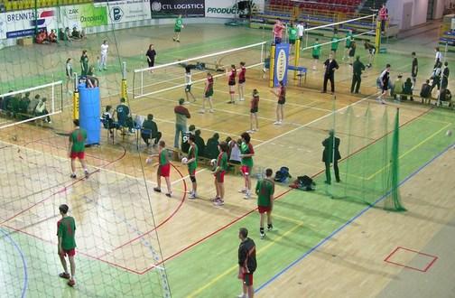 Turniej siatkówki w Azotach