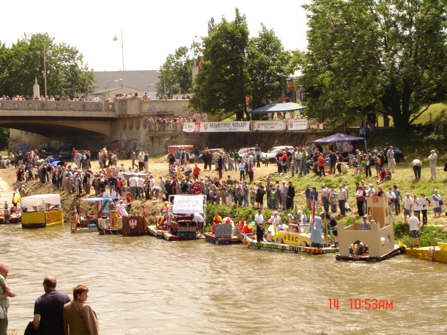 Podczas imprezy Pływadła 2008