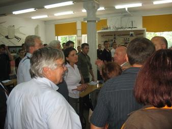 Podczas zwiedzania Zespołu Szkół Nr 1 w Kędzierzynie - Koźlu