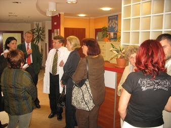 Podczas spotkania w Polsko-Amerykańskiej Klinice Serca