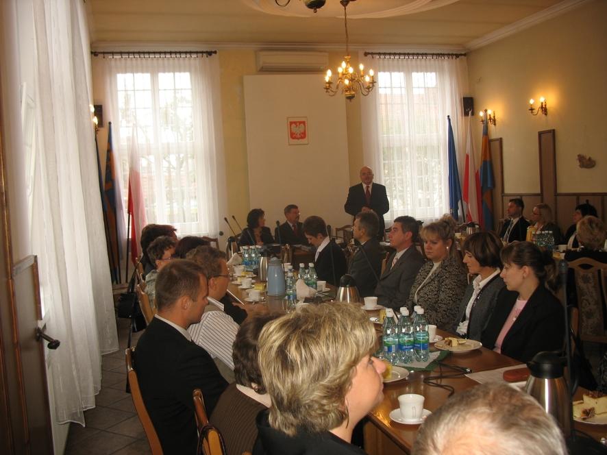 Spotkanie z okazji Dnia Edukacji Narodowej w Starostwie Powiatowym