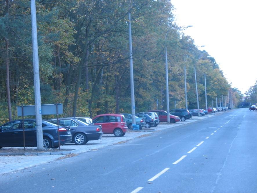 Nowe parkingi przy ulicy Partyzantów