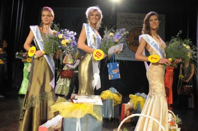 Finalistki Miss Polonia Opolszczyzny 2009