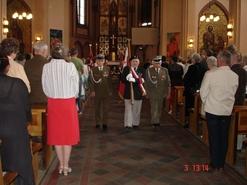Podczas uroczystej Mszy Świętej w Kościele pw. Św. Mikołaja w Kędzierzynie