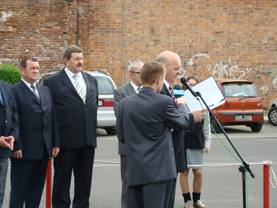 Przemówienie okolicznościowe Starosty Powiatu Kędzierzyńsko - Kozielskiego Józefa Gismana