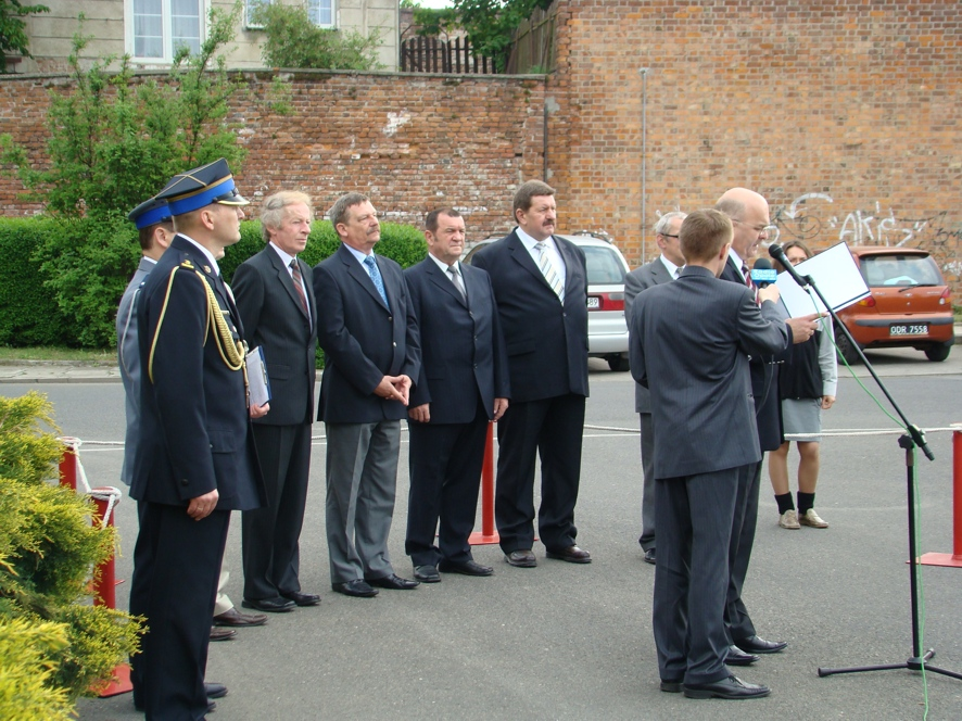 Na uroczystość przybyli przedstawiciele samorządów lokalnych całego powiatu