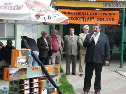 Członek Zarządu Powiatu Jerzy Pałys gratuluje osiągniętych wyników