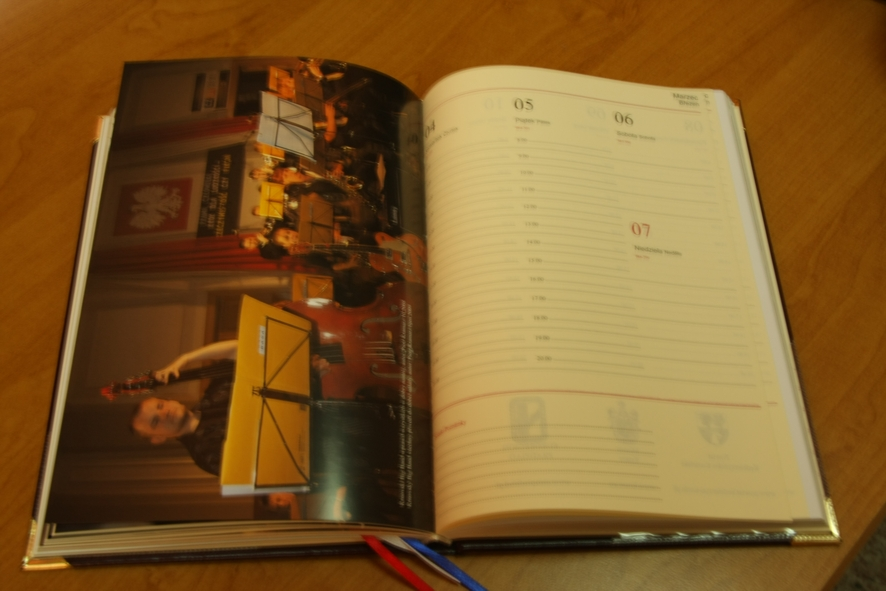 Wnętrze kalendarza
