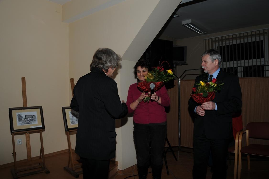 Były też kwiaty i podziękowania od Prezydenta Kędzierzyna - Koźla oraz Dyrektor Miejskiej Biblioteki Publicznej