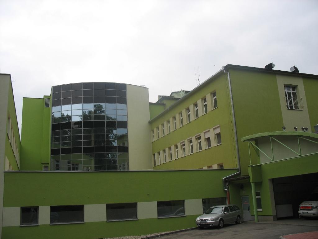 Dobudowane skrzydło szpitala w Koźlu.jpeg