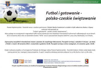 Ogłoszenie projekt Futbol i gotowanie..jpeg