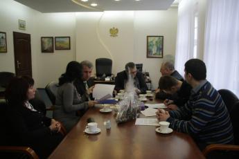 Podczas podpisywania umowy na dokumentację mostu Cisek - Bierawa